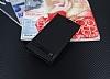 LG K10 2017 Gizli Mıknatıslı Yan Kapaklı Siyah Deri Kılıf - Resim 1