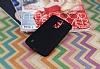LG K10 Mat Siyah Silikon Kılıf - Resim 1