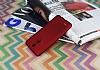 LG K8 2017 Mat Kırmızı Silikon Kılıf - Resim 2