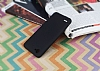 LG Q6 Mat Siyah Silikon Kılıf - Resim 2