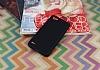 LG Q6 Tam Kenar Koruma Siyah Rubber Kılıf - Resim 2