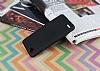 LG Q6 Tam Kenar Koruma Siyah Rubber Kılıf - Resim 1
