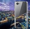 LG Q6 Ultra İnce Şeffaf Silikon Kılıf - Resim 2