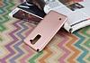 LG Stylus 2 / Stylus 2 Plus Mat Rose Gold Silikon Kılıf - Resim 2