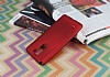 LG Stylus 2 / Stylus 2 Plus Mat Kırmızı Silikon Kılıf - Resim 2
