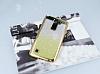 LG Stylus 2 / Stylus 2 Plus Simli Parlak Gold Silikon Kılıf - Resim 1