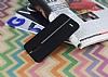 LG Stylus 3 Kadife Dokulu Siyah Silikon Kılıf - Resim 2