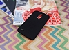 LG Stylus 3 Mat Siyah Silikon Kılıf - Resim 1