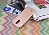LG Stylus 3 Mat Rose Gold Silikon Kılıf - Resim 2