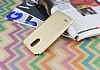 LG Stylus 3 Mat Gold Silikon Kılıf - Resim 2