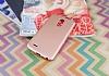 LG Stylus 3 Mat Rose Gold Silikon Kılıf - Resim 1