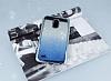 LG Stylus 3 Simli Parlak Mavi Silikon Kılıf - Resim 1