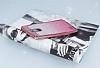LG Stylus 3 Simli Parlak Pembe Silikon Kılıf - Resim 2
