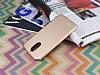 LG Stylus 3 Tam Kenar Koruma Gold Rubber Kılıf - Resim 2