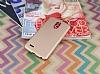 LG Stylus 3 Tam Kenar Koruma Gold Rubber Kılıf - Resim 1