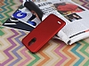 LG Stylus 3 Tam Kenar Koruma Kırmızı Rubber Kılıf - Resim 2