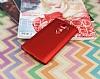 LG V10 Mat Kırmızı Silikon Kılıf - Resim 2
