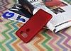 LG V20 Mat Kırmızı Silikon Kılıf - Resim 1