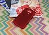 LG V20 Mat Kırmızı Silikon Kılıf - Resim 2