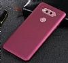 LG V30 Mat Siyah Silikon Kılıf - Resim 3