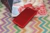 LG X power Mat Kırmızı Silikon Kılıf - Resim 1