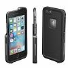 LifeProof Fre iPhone 6 Plus / 6S Plus Siyah Su Geçirmez Kılıf - Resim 5