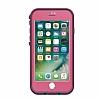 LifeProof Fre iPhone 7 Pembe Su Geçirmez Kılıf - Resim 5
