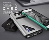 Lific Mighty Card Defence Samsung Galaxy Note 5 Ultra Koruma Steel Silver Kılıf - Resim: 8