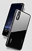 Likgus Huawei P20 Lite Kırmızı Silikon Kenarlı Şeffaf Rubber Kılıf - Resim 7
