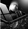Likgus Huawei P20 Lite Siyah Silikon Kenarlı Şeffaf Rubber Kılıf - Resim 1