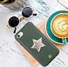 Luna Aristo Astro Serisi İphone iPhone 7 / 8 Gerçek Deri Yeşil Kılıf - Resim 1