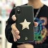 Luna Aristo Astro Serisi iPhone 7 Plus / 8 Plus Bordo Gerçek Deri Kılıf - Resim 1