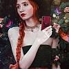 Luna Aristo Farfalla Serisi iPhone X / XS Gerçek Deri Lacivert Kılıf - Resim 1