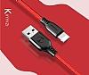Mcdodo Lightning Kırmızı Data Kablosu 1m - Resim 4
