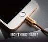 Mcdodo Lightning Işıklı Siyah USB Data Kablosu 1,20m - Resim 3