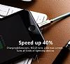 Mcdodo Lightning Işıklı Siyah USB Data Kablosu 1,20m - Resim 6