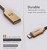Mcdodo Lightning Işıklı Siyah USB Data Kablosu 1,20m - Resim 9