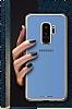 MeePhone Samsung Galaxy S9 Gold Kenarlı Şeffaf Rubber Kılıf - Resim 3