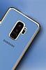 MeePhone Samsung Galaxy S9 Gold Kenarlı Şeffaf Rubber Kılıf - Resim 1