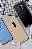 MeePhone Samsung Galaxy S9 Gold Kenarlı Şeffaf Rubber Kılıf - Resim 4