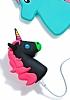 Mili Unicorn 2600 mAh Powerbank Siyah Yedek Batarya - Resim 6