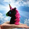Mili Unicorn 2600 mAh Powerbank Siyah Yedek Batarya - Resim 1