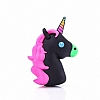 Mili Unicorn 2600 mAh Powerbank Siyah Yedek Batarya - Resim 2