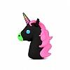 Mili Unicorn 2600 mAh Powerbank Siyah Yedek Batarya - Resim 3