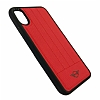 Mini iPhone X Silikon Kenarlı Kırmızı Kılıf - Resim 2