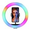 Soft Ring Light MJ45 RGB Profesyonel Selfie Işığı 45 cm