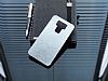 Motomo Asus Zenfone 3 Laser ZC551KL Metal Silver Rubber Kılıf - Resim 1