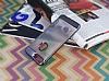 Motomo Gel iPhone 7 Plus / 8 Plus Dark Silver Silikon Kılıf - Resim 2