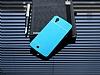 Motomo General Mobile Discovery 2 Mini Metal Mavi Rubber Kılıf - Resim 1