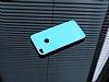 Motomo Huawei P9 Lite 2017 Metal Mavi Rubber Kılıf - Resim 1